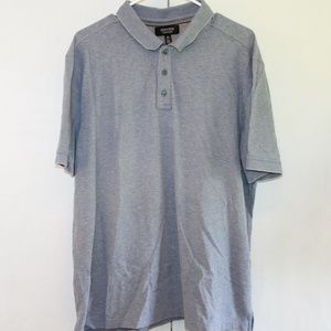 Nordstrom Men's Shop Size XL Gray Polo